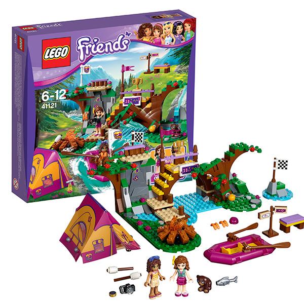 Lego Friends 41121 Конструктор Лего Подружки Спортивный лагерь: сплав по реке