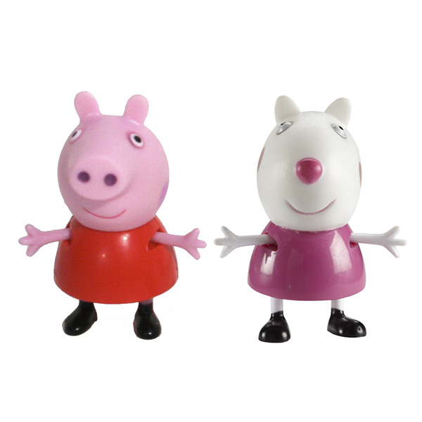 """Peppa Pig 28816 Свинка Пеппа Фигурки """"Пеппа и Сьюзи"""""""