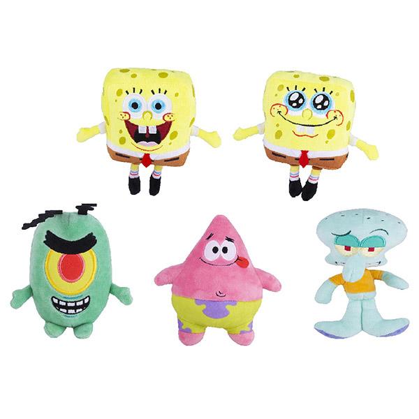 Купить SpongeBob EU690500 Игрушка плюшевая 15 см (в ассортименте), Мягкие игрушки SpongeBob