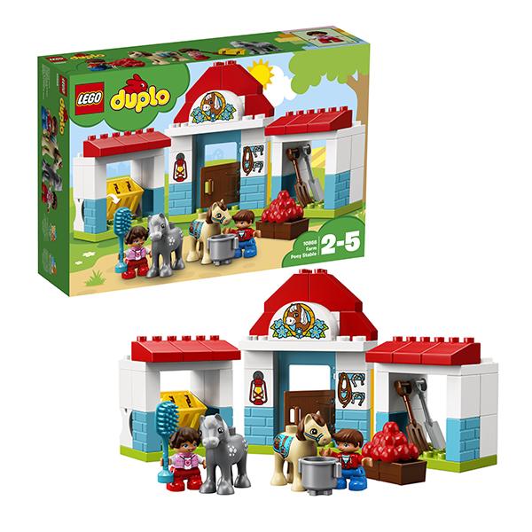 Купить LEGO DUPLO 10868 Конструктор ЛЕГО ДУПЛО Конюшня на ферме, Конструкторы LEGO