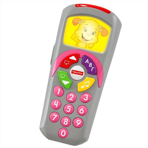 Купить Mattel Fisher-Price DLK75 Фишер Прайс Обучающий пульт сестрички, Развивающие игрушки для малышей Mattel Fisher-Price