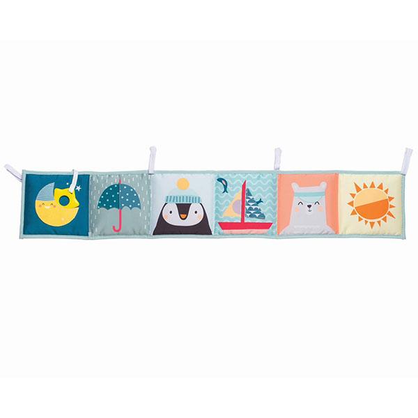 Купить Taf Toys 12385 Таф Тойс Развивающая книжка с завязками, Развивающие игрушки для малышей TAF TOYS