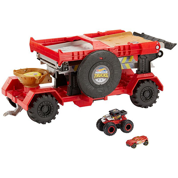 Купить Mattel Hot Wheels GFR15 Хот Вилс Игровой набор Монстр трак Передвижной трамплин , Игрушечные машинки и техника Mattel Hot Wheels