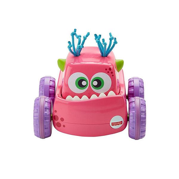 Купить Mattel Fisher-Price DRG14 Фишер Прайс Инерционные монстрики, Развивающие игрушки для малышей Mattel Fisher-Price