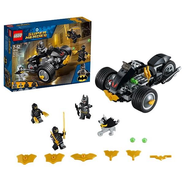 Купить LEGO Super Heroes 76110 Конструктор ЛЕГО Супер Герои Бетмен: Нападение Когтей, Конструкторы LEGO