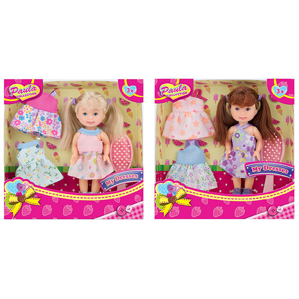 Купить Paula MC23001 Игровой набор Модница (в ассортименте), Игровые наборы и фигурки для детей Paula