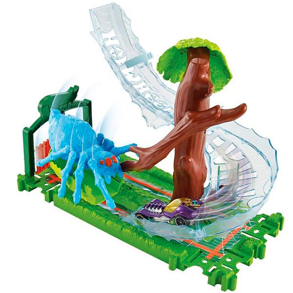 Купить Mattel Hot Wheels FNB07 Хот Вилс Игровой набор Сити с монстрами-злодеями, Машинка Mattel Hot Wheels