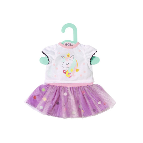 Купить Zapf Creation Baby born 870-563 Бэби Борн Футболка с балетной юбкой, 34-38 см, Одежда для куклы Zapf Creation