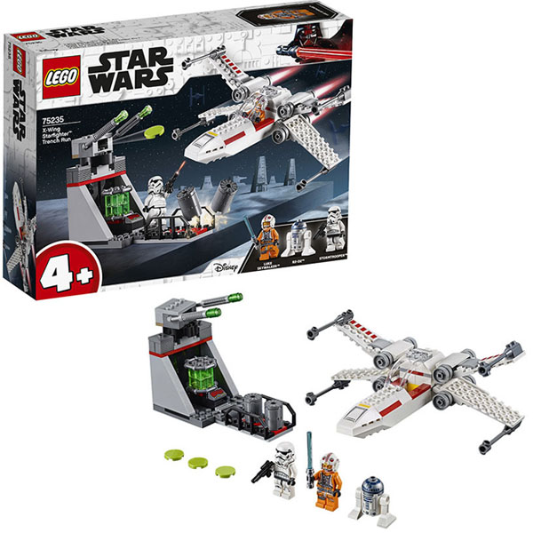 Купить LEGO Star Wars 75235 Конструктор ЛЕГО Звездные Войны Звёздный истребитель типа Х, Конструктор LEGO