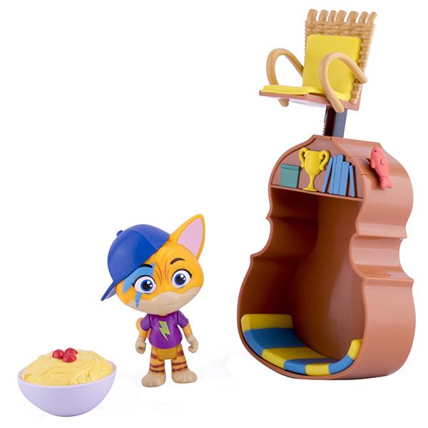 Игровые наборы и фигурки для детей Toy Plus 44 Котёнка 34131 Игровой набор с фигуркой Лампо и аксессуарами фото