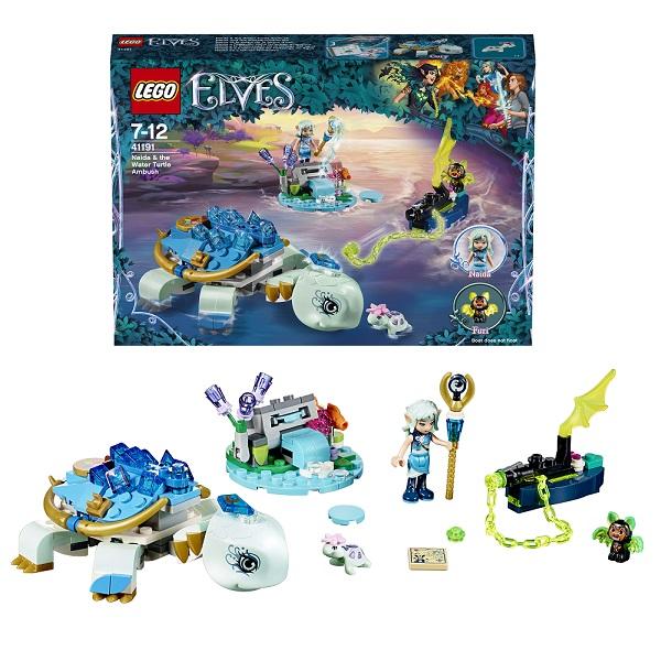 Купить Lego Elves 41191 Лего Эльфы Засада Наиды и водяной черепахи, Конструкторы LEGO