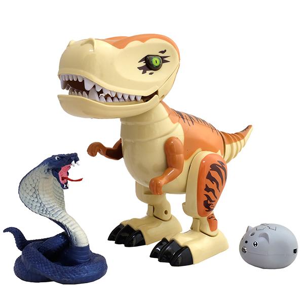 Купить HK Industries TT6010A Динозаврик T-Rex и/к, Радиоуправляемая игрушка HK Industries