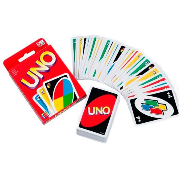 Купить Uno W2087 Классическая карточная игра Уно, Настольная игра Mattel Games