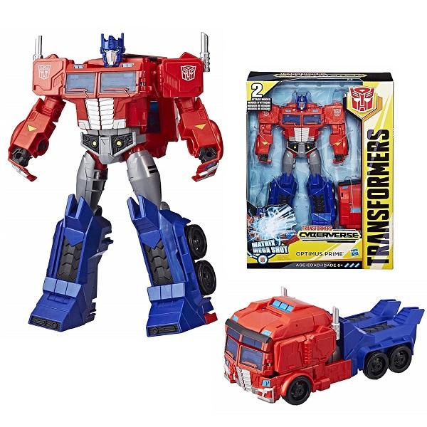 Купить Hasbro Transformers E1885/E2067 Трансформер Кибервселенная 30 см Оптимус Прайм, Игровые наборы и фигурки для детей Hasbro Transformers