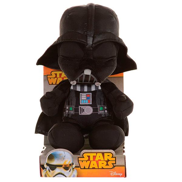 Мягкая игрушка Disney Star Wars 1400605 Дисней Звездные войны Дарт Вейдер, 17 см
