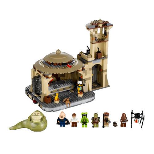Lego star wars 9516 лего звездные войны дворец