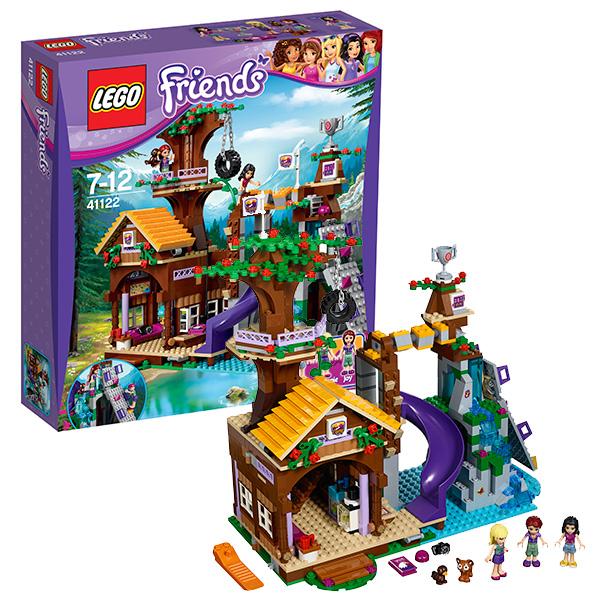 Lego Friends 41122 Лего Подружки Спортивный лагерь: дом на дереве