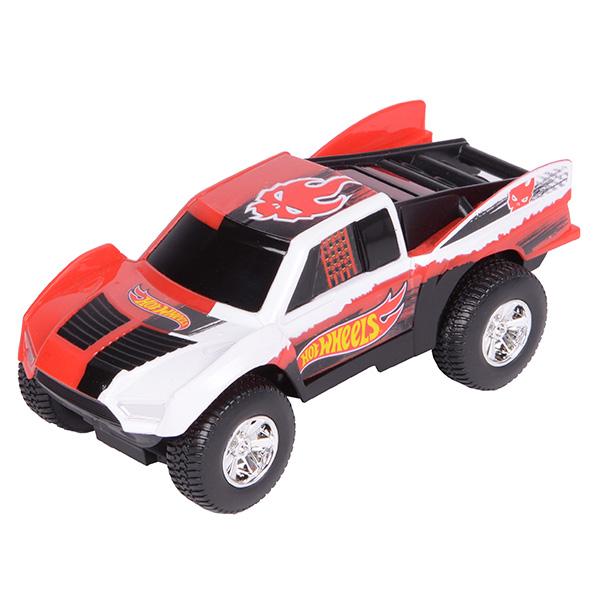 Купить Hot Wheels HW90562 Машинка Хот вилс на батарейках со светом механическая, красная 14 см, Машинка Toy State