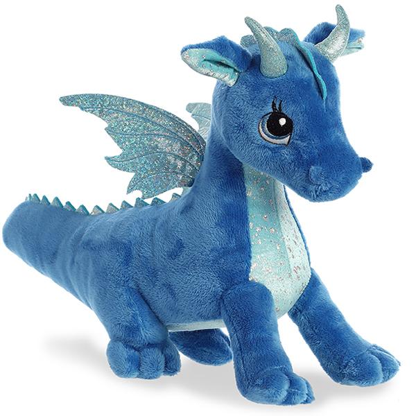 Aurora 170619A Дракон синий, 30 см - Мягкие игрушки