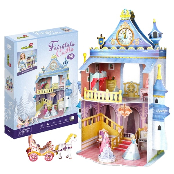 Купить Cubic Fun P809h Кубик фан Замок принцессы, Пазлы Cubic Fun