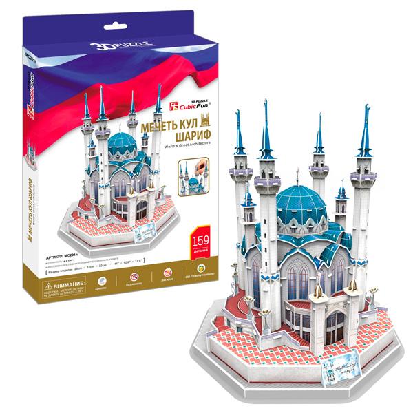 Купить Cubic Fun MC201h Кубик фан Мечеть Кул Шариф (Россия), 3D пазлы Cubic Fun