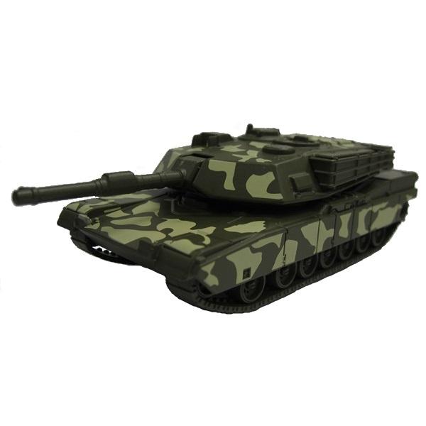 Игрушечные машинки и техника Welly — Welly 99193CM Велли Танк