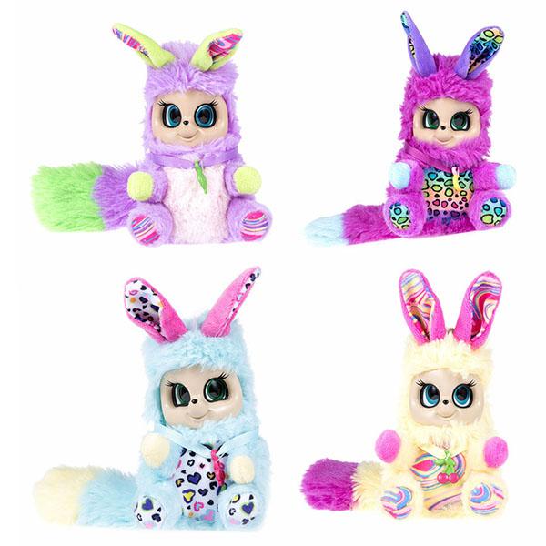 Мягкие игрушки Bush Baby World Bush Baby World T16316 Плюшевые Пушастики,шевелит ушками, вращает глазками (в ассортименте) по цене 899