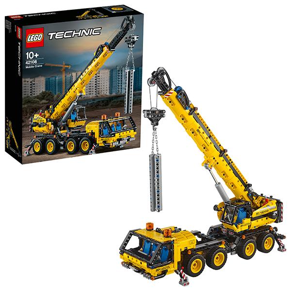 Купить LEGO Technic 42108 Конструктор ЛЕГО Техник Мобильный кран, Конструкторы LEGO