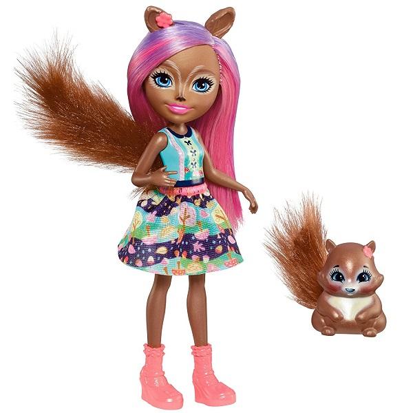 Купить Mattel Enchantimals FNH22 Кукла с питомцем (в ассортименте), Куклы и пупсы Mattel Enchantimals