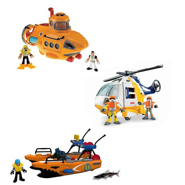 Mattel Imaginext P5487 Премиальные транспортные средства, арт:149249 - Мини наборы, Игровые наборы