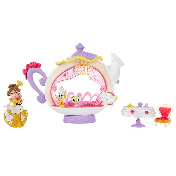 Купить Hasbro Disney Princess B5346 Маленькая кукла и модные аксессуары Белль и гостиная, Игровой набор Hasbro Disney Princess