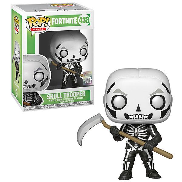 Купить Funko POP 34470F Vinyl: Games: Fortnite: Skull Trooper 34470, Игровые наборы и фигурки для детей Funko