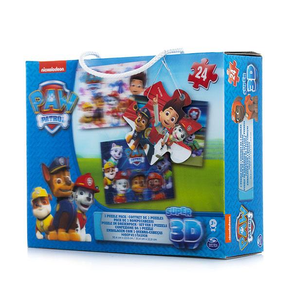 3D пазлы Paw Patrol - 3D пазлы, артикул:146298