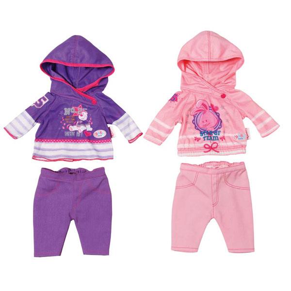 Одежда для куклы Zapf Creation - Одежда и аксессуары для кукол, артикул:141727