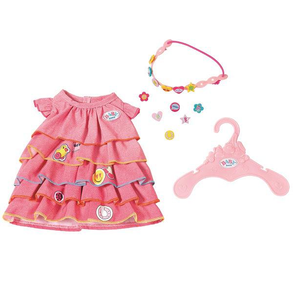 Купить Zapf Creation Baby born 824-481 Бэби Борн Платье и ободок-украшение, Одежда для куклы Zapf Creation