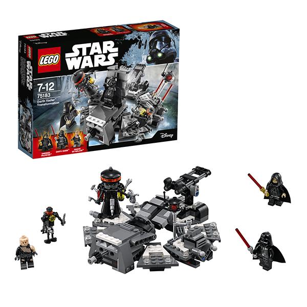 Lego Star Wars 75183 Конструктор Лего Звездные Войны Превращение в Дарта Вейдера, арт:148578 - Звездные войны, Конструкторы LEGO