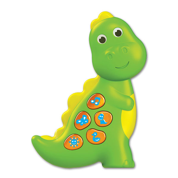 Купить Азбукварик 2153 Чудо-огоньки Динозаврик , Музыкальная игрушка Азбукварик
