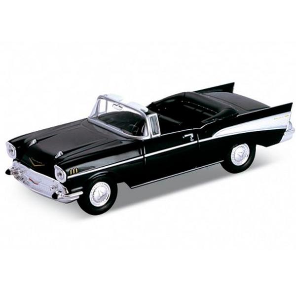 Купить Welly 42357 Велли Модель винтажной машины 1:34-39 Chevrolet Bel Air 1957, Машинка инерционная Welly