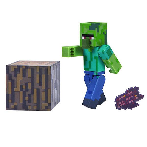 Купить Minecraft 16489 Майнкрафт фигурка Zombie Villager, Минифигурка Minecraft