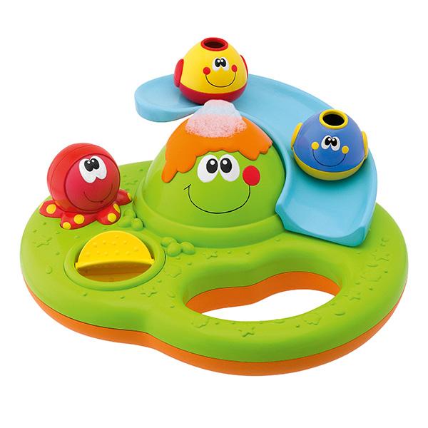 Купить CHICCO TOYS 70106A Игрушка для ванны Остров с пузырьками 6 месяцев, Детские игрушки для ванной CHICCO TOYS