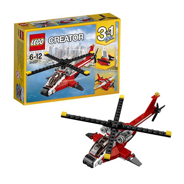 Lego Creator 31057 Конструктор Лего Криэйтор Красный вертолёт, арт:145734 - Криэйтор, Конструкторы LEGO