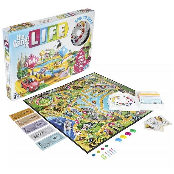 Hasbro Other Games E4304 Настольная игра ИГРА В ЖИЗНЬ - Настольные игры