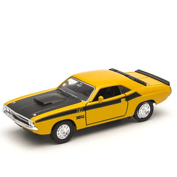 Купить Welly 43663 Велли Модель винтажной машины 1:34-39 Dodge Challenger 1970, Игрушечные машинки и техника Welly