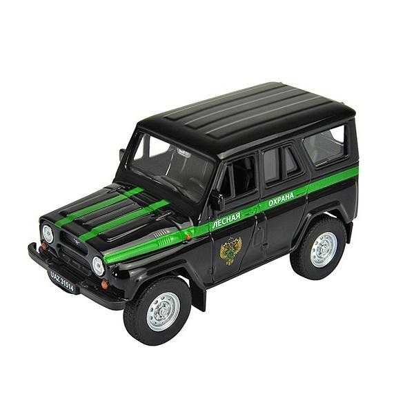 Купить Welly 42380FC Велли Модель машины 1:34-39 УАЗ 31514 Лесная Охрана, Машинка инерционная Welly