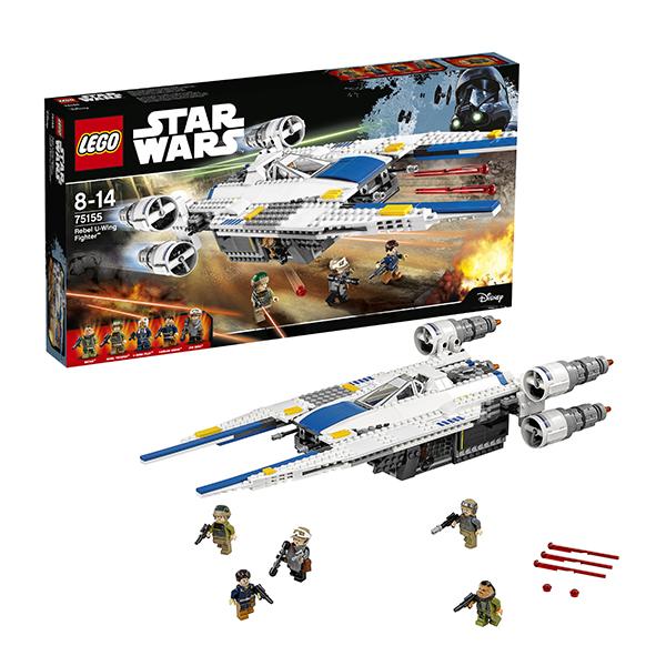 Lego Star Wars 75155 Конструктор Лего Звездные Войны Истребитель Повстанцев U-Wing, арт:142368 - Звездные войны, Конструкторы LEGO