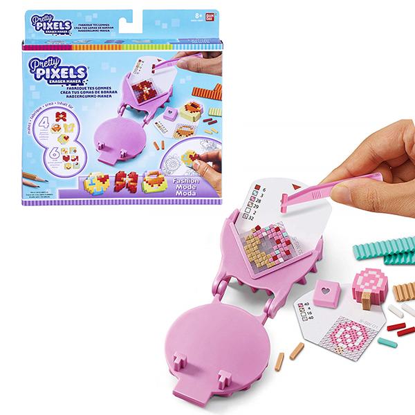 Купить Pretty Pixels 38520 Студия для создания фигурных ластиков Любимые увлечения , Наборы для творчества Pretty Pixels