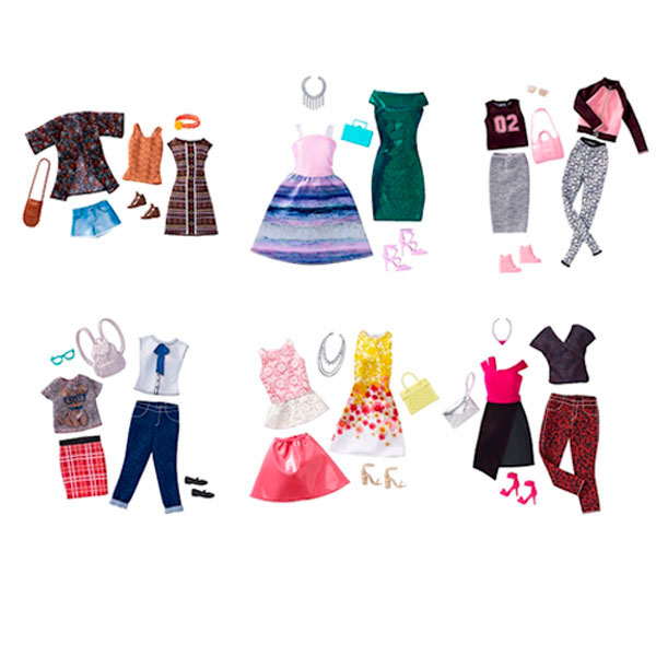 Одежда для куклы Mattel Barbie - Barbie, артикул:151867