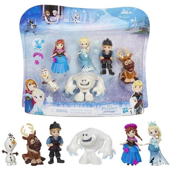 Купить Hasbro Disney Princess C1118 Набор маленьких кукол Холодное сердце для коллекционеров, Игровые наборы и фигурки для детей Hasbro Disney Princess