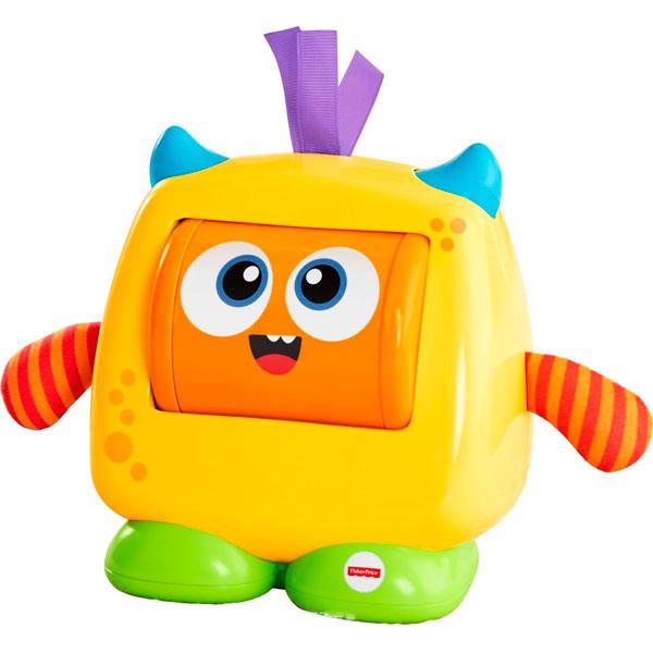 Купить Mattel Fisher-Price DRG13 Фишер Прайс Добрый монстрик, Развивающие игрушки для малышей Mattel Fisher-Price