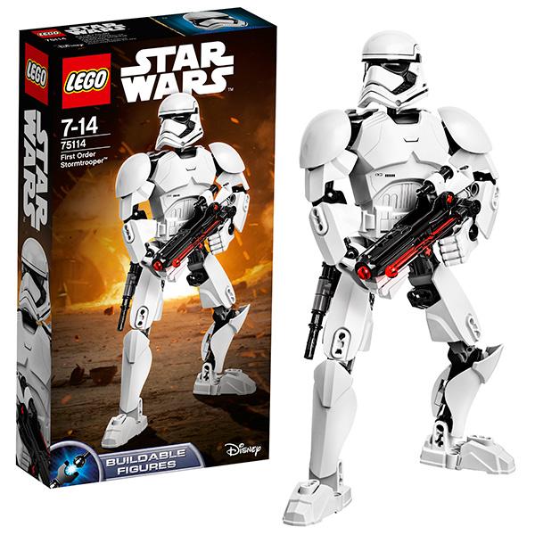 Купить Lego Star Wars 75114 Лего Звездные Войны Штурмовик Первого Ордена, Конструктор LEGO